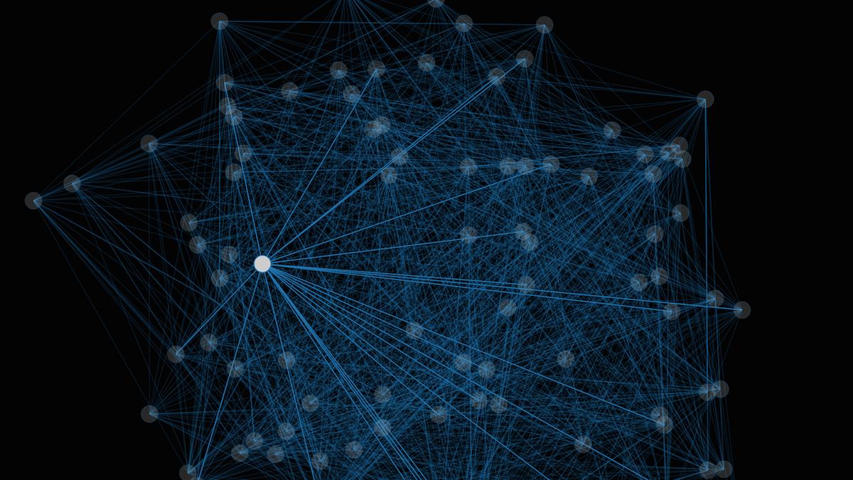 Social Graph - dark