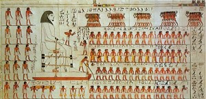 Wall Painting from the Tomb of Djehutihotep